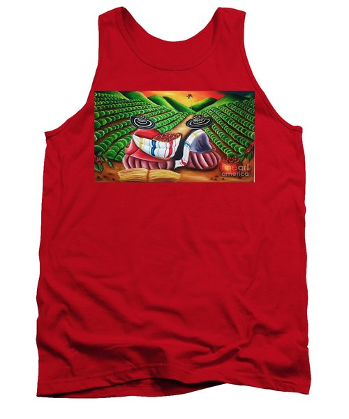 Coffee Plantation Colombia Tank Top