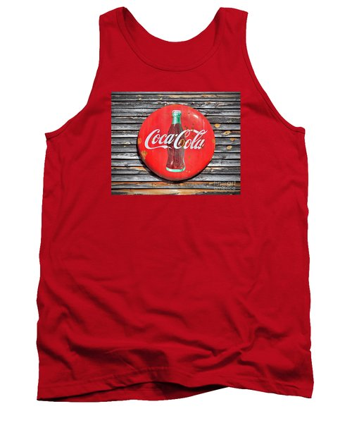 Coke Tank Top by Marion Johnson