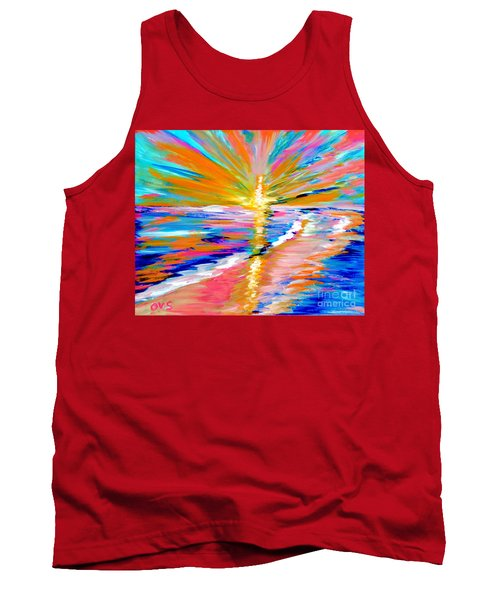 Collection Art For Health And Life. Painting 5. Energy  Of  Life Tank Top