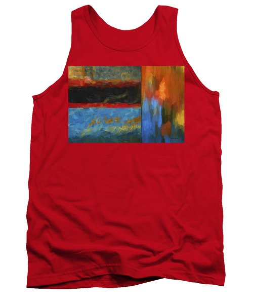 Color Abstraction Li  Tank Top