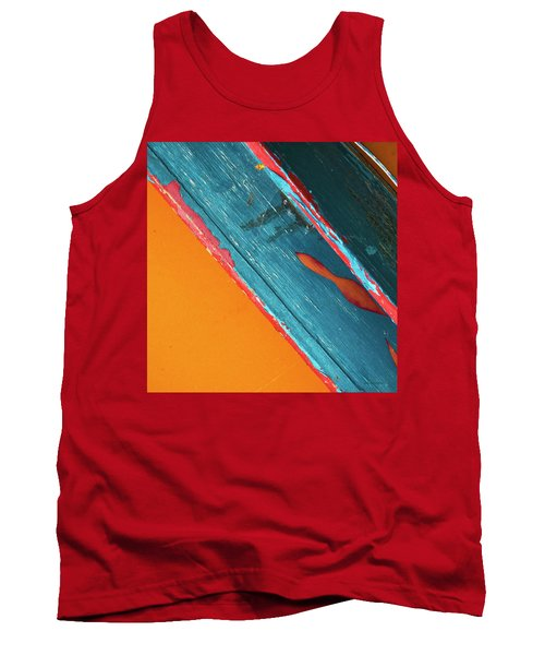 Tank Top featuring the photograph Color Abstraction Lxii Sq by David Gordon