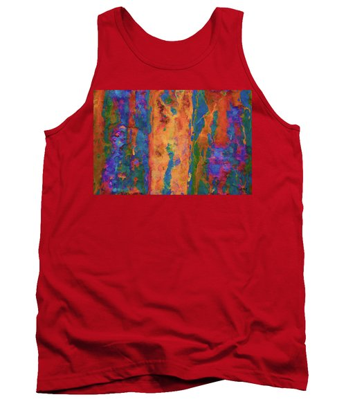 Tank Top featuring the photograph Color Abstraction Lxvi by David Gordon