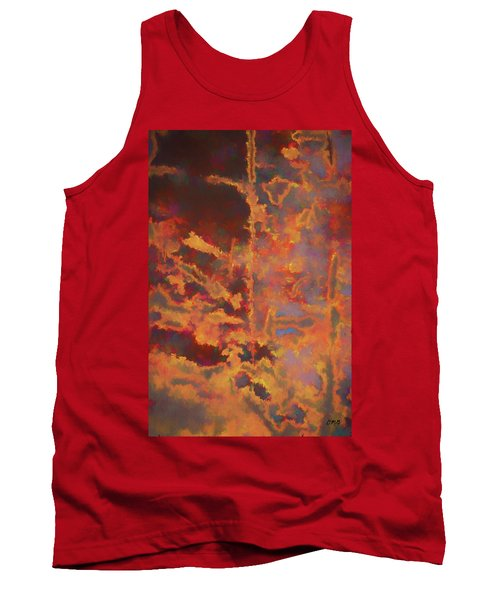 Tank Top featuring the photograph Color Abstraction Lxxi by David Gordon