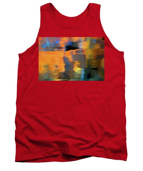 Tank Top featuring the photograph Color Abstraction Lxxii by David Gordon