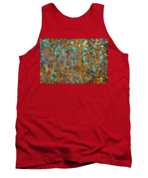 Color Abstraction Lxxiv Tank Top