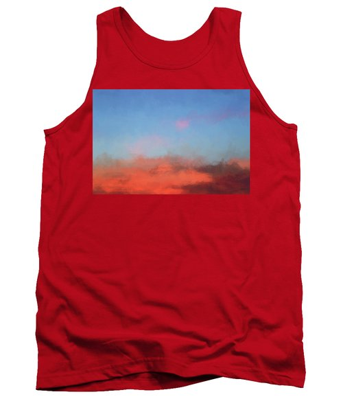 Color Abstraction Xlvii - Sunset Tank Top