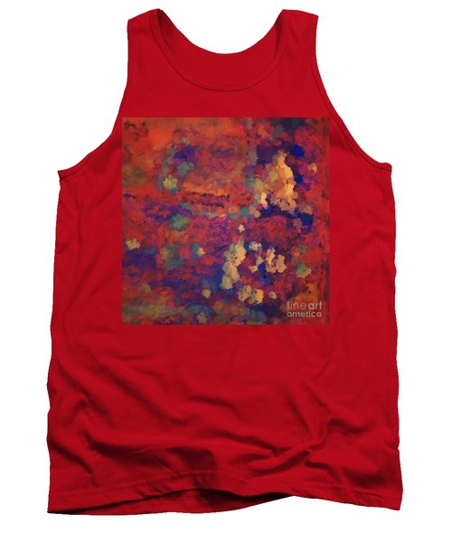 Color Abstraction Xxxv Tank Top