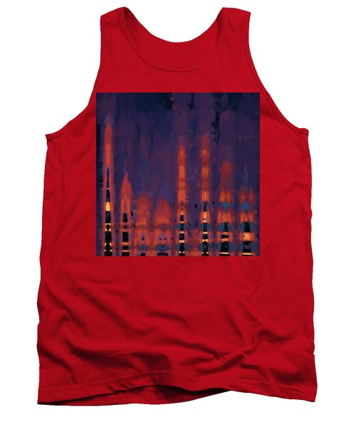 Color Abstraction Xxxviii Tank Top