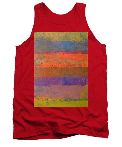 Color Collage Two Tank Top by Michelle Calkins