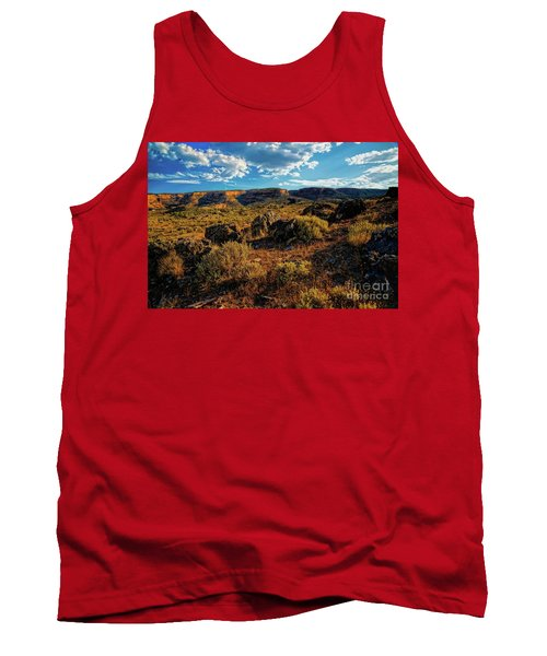 Colorado Summer Evening Tank Top