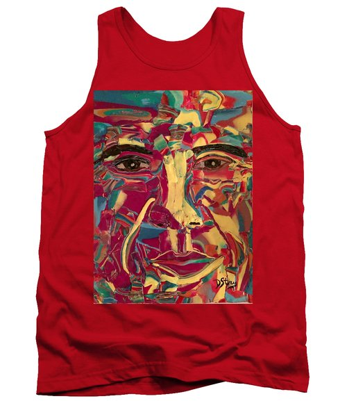 Colored Man Tank Top