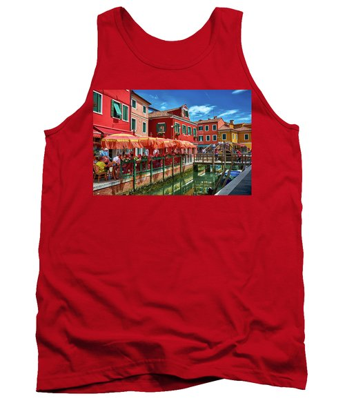 Colorful Day In Burano Tank Top