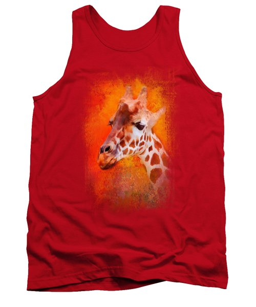 Colorful Expressions Giraffe Tank Top