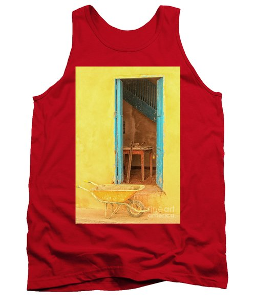 Colorful House  Tank Top