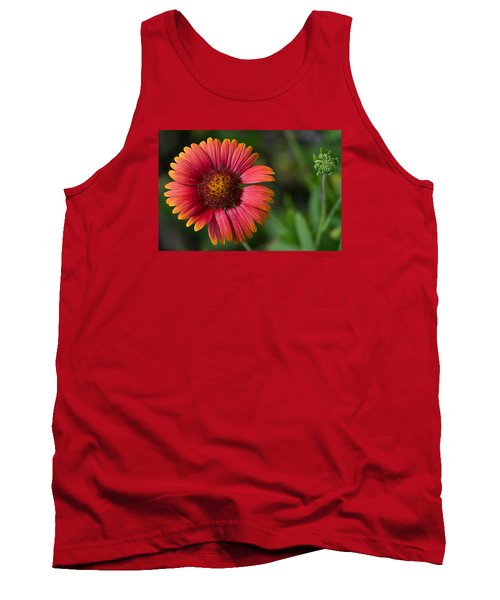 Colorful Indian Blanket Tank Top by Kenneth Albin