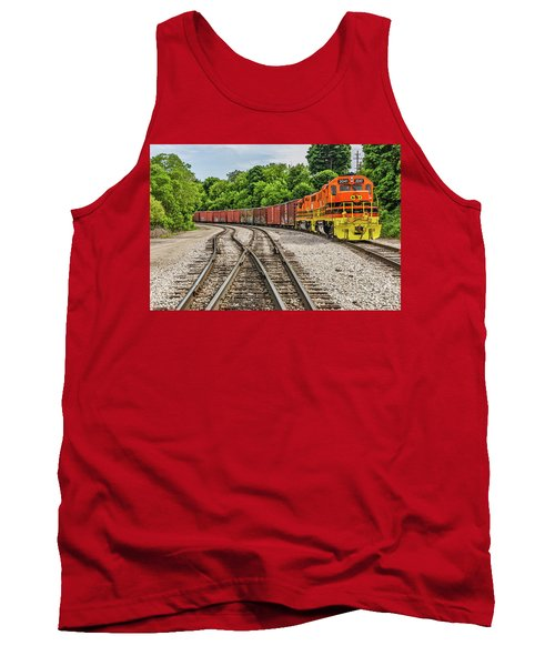 Colorful Marquette Rail Tank Top