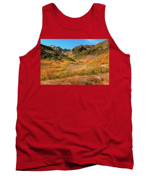 Colorful Mcgee Creek Valley Tank Top