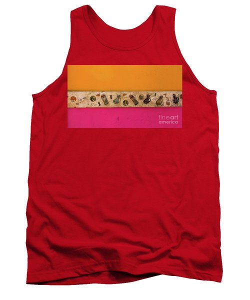Colorful Mexico  Mexican Art By Kaylyn Franks Tank Top