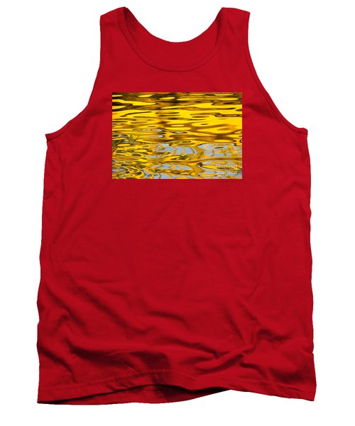 Tank Top featuring the photograph Colorful Reflection In The Water by Odon Czintos