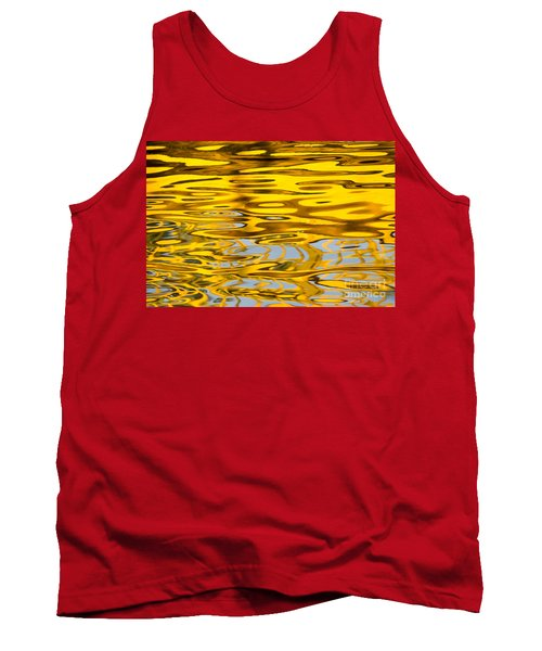 Colorful Reflection In The Water Tank Top