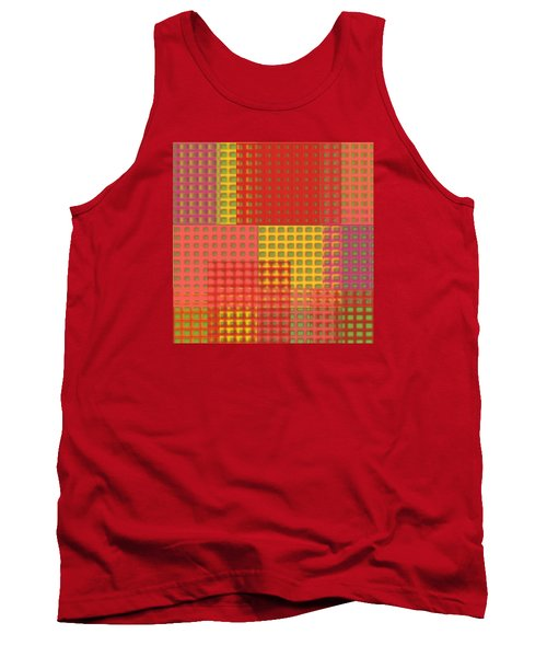 Colorful Weave Tank Top by Bonnie Bruno