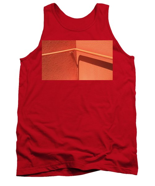 Colors And Shadows Cornered Tank Top