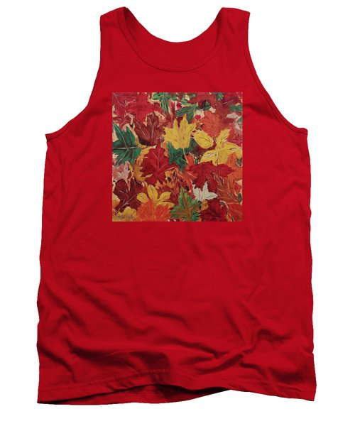 Colors Of October Tank Top by Mike Caitham