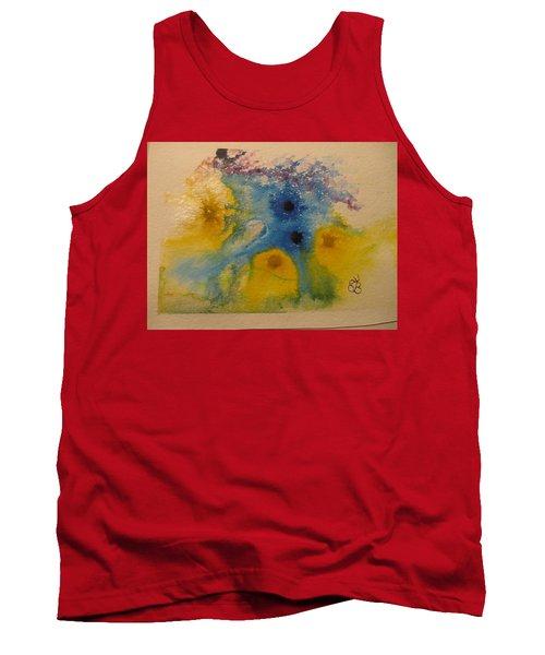 Colourful Tank Top by AJ Brown