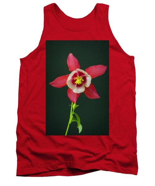 Columbine Flower 2 Tank Top