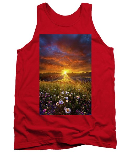 Tank Top featuring the photograph Come Again Another Day by Phil Koch
