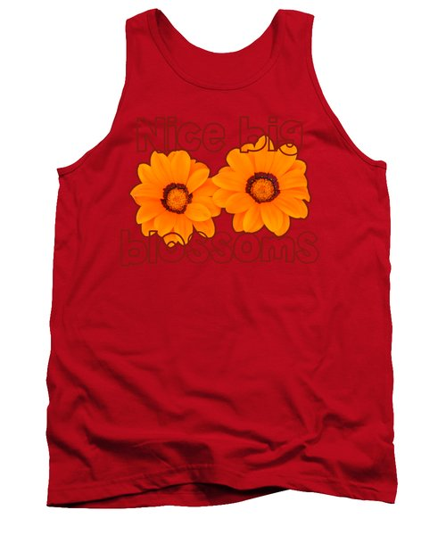 Comely Calendula Tank Top