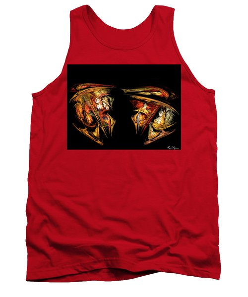 Coming Face To Face Tank Top