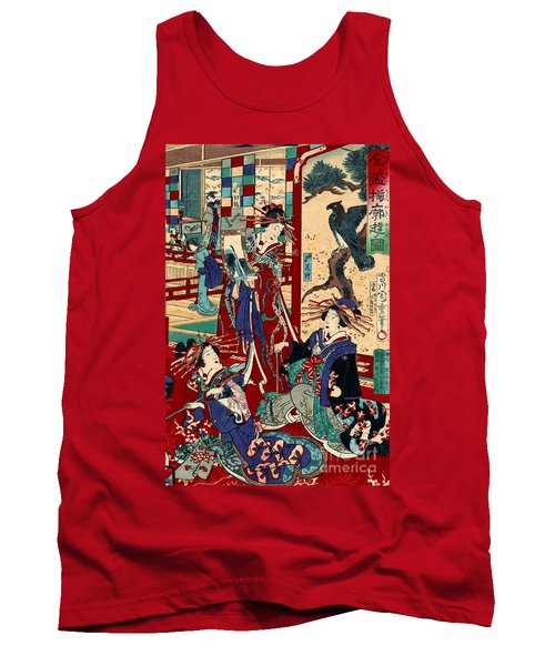 Competing Brothels 1876 Tank Top by Padre Art
