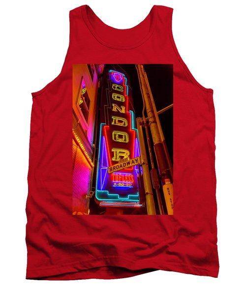 Condor Neon On Broadway Tank Top