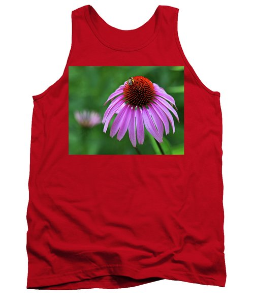 Tank Top featuring the photograph Coneflower by Judy Vincent