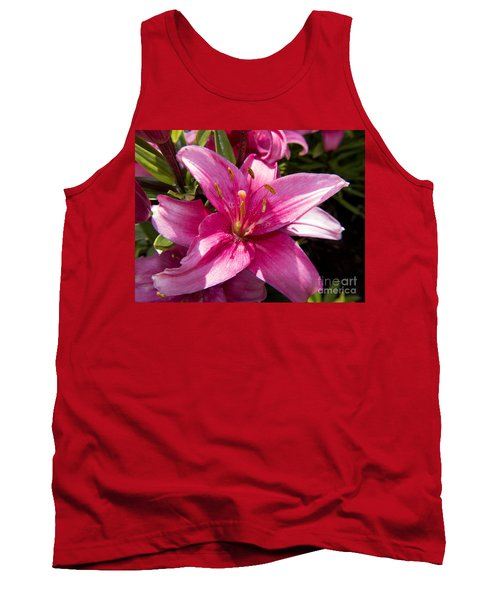 A Lily Speaks Of Love In The Language Of The Heart Tank Top