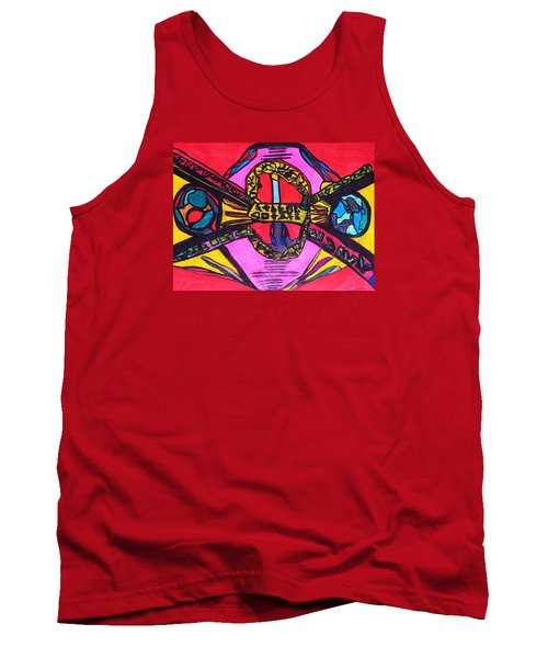 Contact Tank Top by Darrell Black