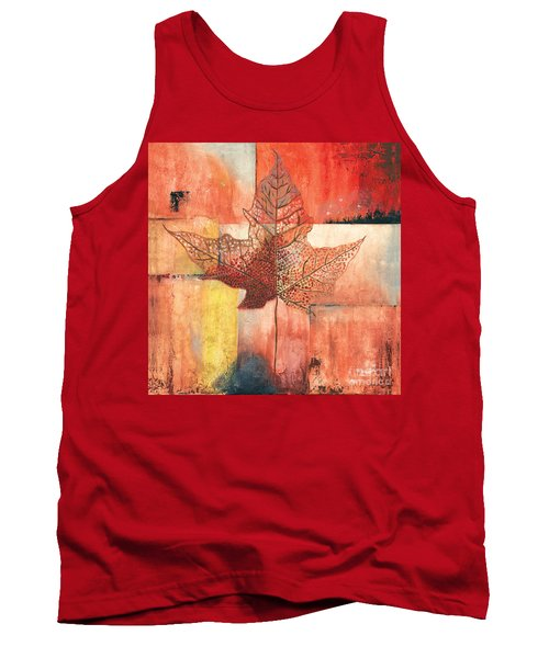 Contemporary Leaf 2 Tank Top