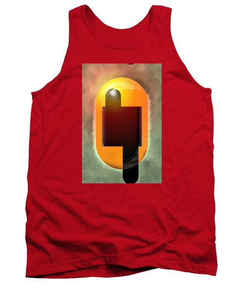 Tank Top featuring the painting Continuity by Mario Carini