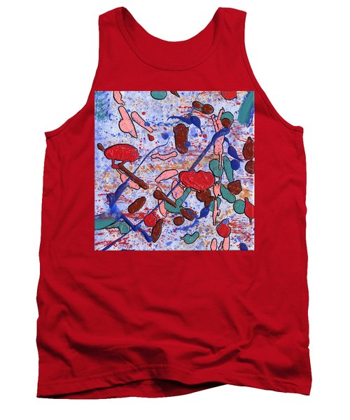 Conversation With Grace Tank Top by Phil Strang
