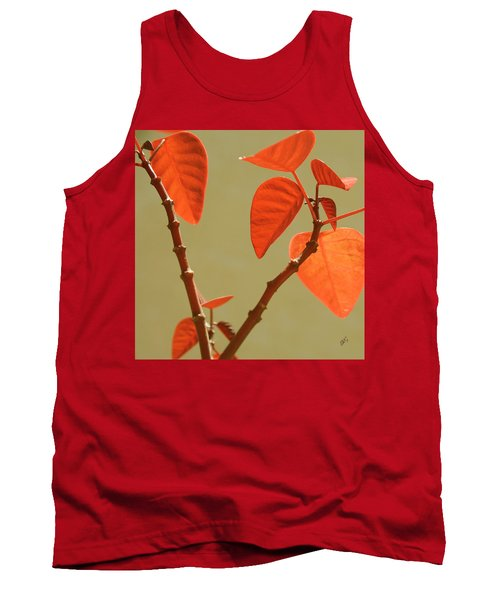 Copper Plant Tank Top