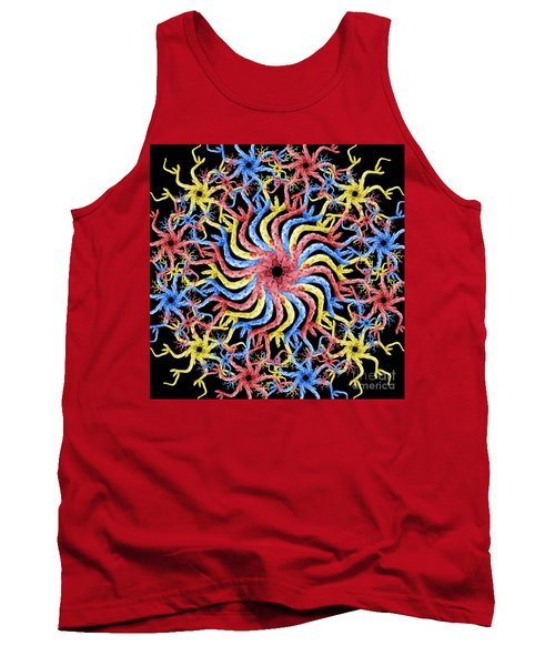 Copperhead Mandala Tank Top by Brian Jones