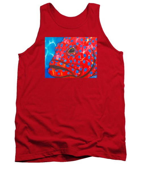 Coral Groupper II Tank Top