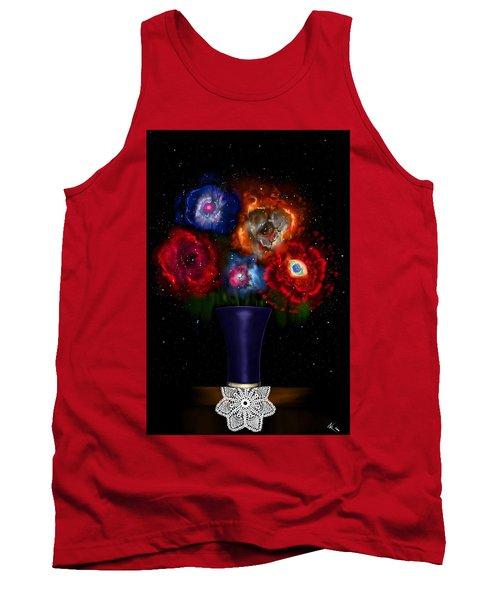 Cosmic Bouquet Tank Top