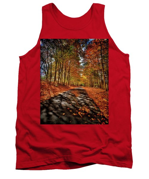 Country Road Tank Top by Mark Allen