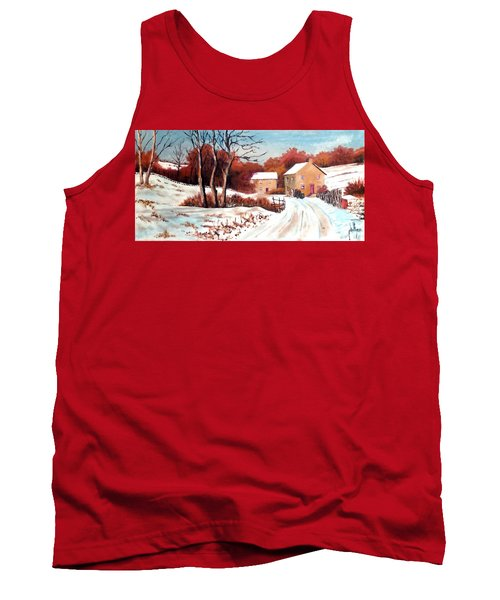 Country Snow Tank Top
