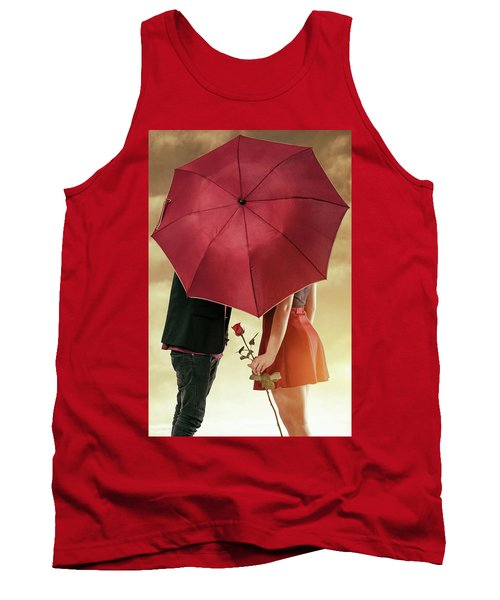 Tank Top featuring the photograph Couple Of Sweethearts by Carlos Caetano