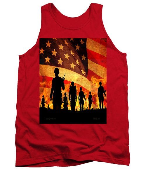 Courage Under Fire Tank Top