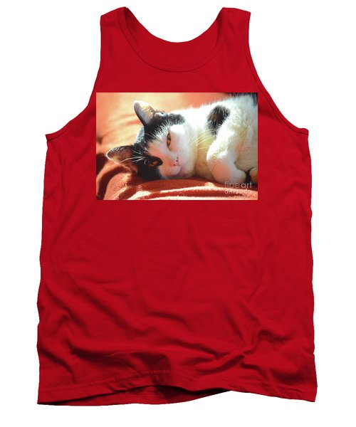 Cover Girl Tank Top by Jesse Ciazza