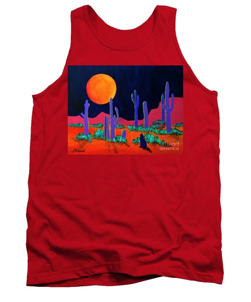 Coyote Moon Tank Top by Jeanette French